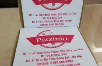 In hộp bánh pizza, đặt in hộp bánh pizza giá rẻ ở đâu?