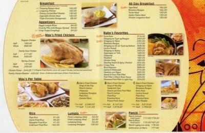 Nhận làm in menu thực đơn nhà hàng giá rẻ lấy nhanh ở đâu
